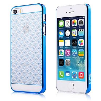 Cover in Policarbonato per iPhone SE - 5S - 5 Colore Blu