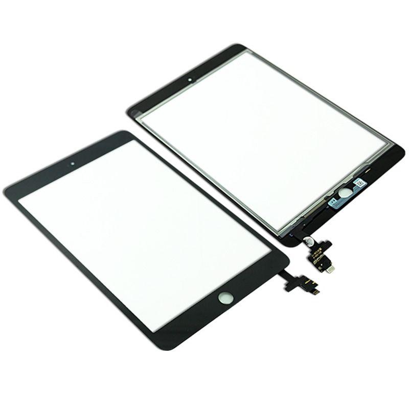 Touch Screen iPad Mini 3 A1599 A1600 con connettore IC Nero