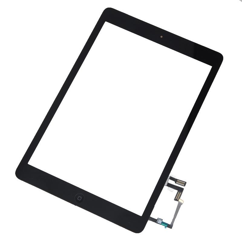 Touch+Telaio LCD+Pulsanti Home AAA per iPad Air 5 serie Nero