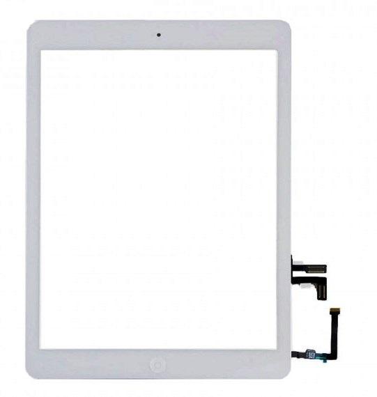 Touch+Telaio LCD+Pulsanti AAA per iPad Air Serie 5 Bianco