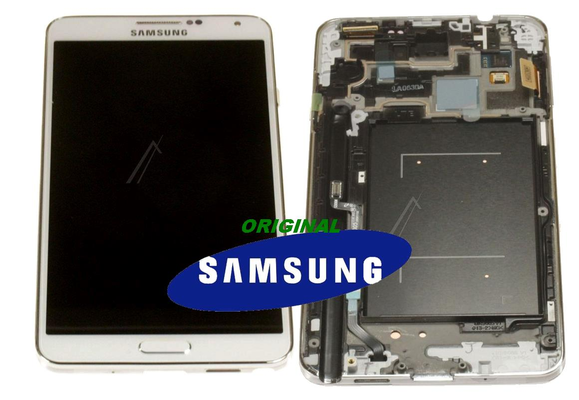 LCD + TOUCH ORIGINAL GALAXY NOTE3 N9005 BIANCO GH9715209B