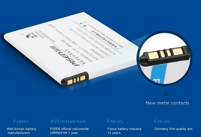 Batteria per Huawei Ascend G750 Honor 3X